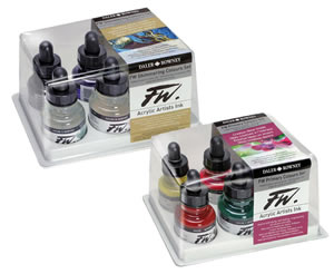 Daler Rowney FW Acrylic Artists Inks