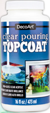 DecoArt Pouring Topcoat, 16 oz.