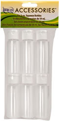DecoArt Empty Bottles with Caps, Pack of 6