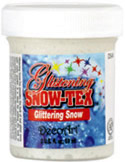 DecoArt Glistening Snow-Tex, 2 oz.