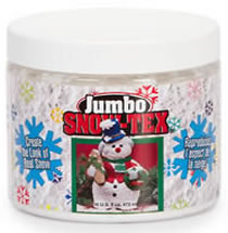DecoArt Jumbo Snow Tex, 16 oz.