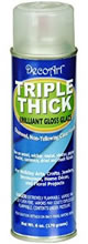 DecoArt Triple Thick Gloss Glaze Spray, 6 oz.