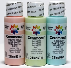 3 New Delta Ceramcoat Acrylic Colors for 2019