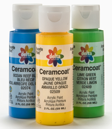 Delta Ceramcoat Acrylic Colors, 2 oz. bottles