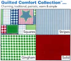 Delta FabriCraft Quilted Comfort Collection