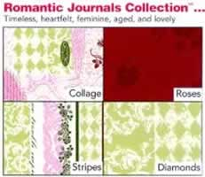 Delta FabriCraft Romantic Journals Collection