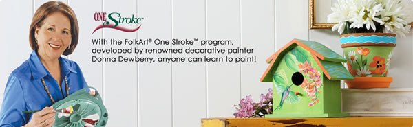 Donna Dewberry One-Stroke Painting Supplies