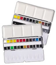 Daler Rowney Aquafine Watercolor Set