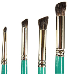 Dynasty Decorator 300 Series Deerfoot Stippler Brushes