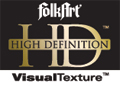 Plaid FolkArt High Definition Logo