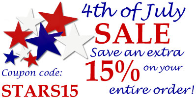 Fourth of July Sale 2015