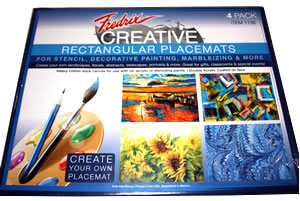 Fredrix Creative Rectangular Placemats