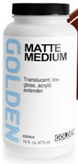 Golden Matte Medium, 8 oz.