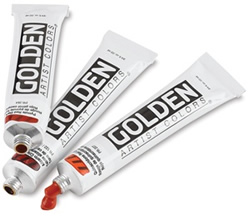 Golden Heavy Body Artists Acrylics, 2 oz.