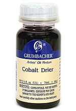 Grumbacher Cobalt Drier - Artist's Oil Medium