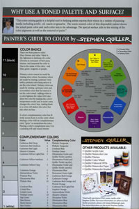 Grey Matters Paper Palette Chart