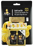 Mona Lisa Gold Leaf Kit, 25 Sheets