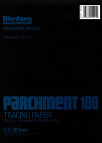 Heavy Duty Parchment 100 Bienfang Tracing Pads