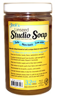 Jack's Linseed Studio Soap, 32 oz.