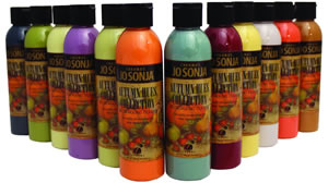 Jo Sonja Autumn Hues Background Color Collection, 6 oz. bottles