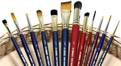 Jo Sonja Sure Touch Paint Brushes