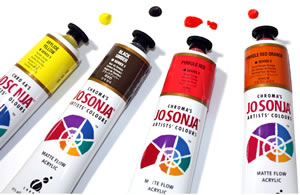 Jo Sonja's New 2017 Tube Acrylic Colors