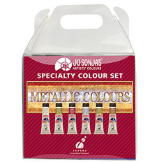 Jo Sonja Metallic Paint Set