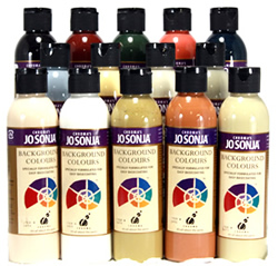 Jo Sonja's Classic Background Color Collection, 6 oz. Bottles