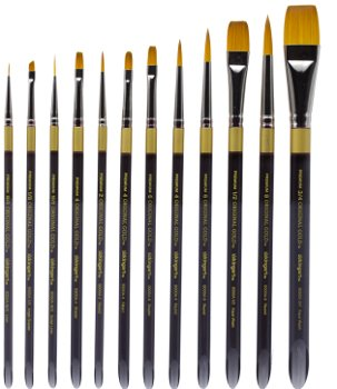 KingArt Original Gold Premium Brushes, 9000 Series