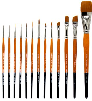 12 Piece Radiant All-Purpose Brush Set, 6000 Series