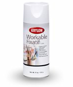 Krylon Workable Fixative Spray, 11 oz.