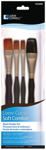 Loew Cornell Wash/Shader Brush Set