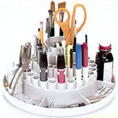 Artist Brush Storage Devices And Brush Holders