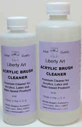 Liberty Acrylic Brush Cleaner