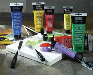 Liquitex Basics Acrylic Colors