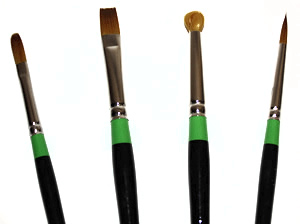 Loew Cornell 2013 New Brush Shapes!