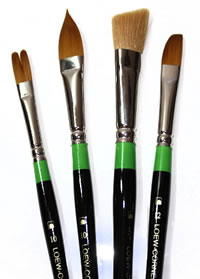 Amazing new brush shapes from Loew Cornell!