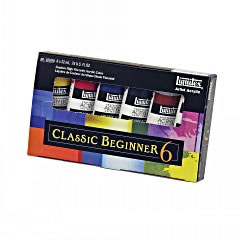 Liquitex Primary Color Heavy Body Acrylic Set