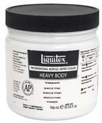 Liquitex Titanium White High Viscosity Acrylic 32 oz