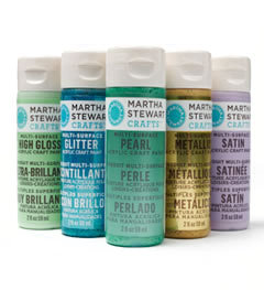 Martha Stewart Crafts Paint