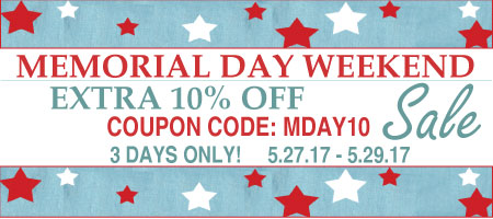 Hofcraft Memorial Day Sales Event 2017