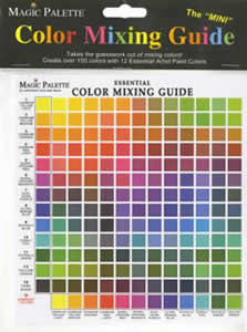 "The ""Mini"" Color Mixing Guide by Magic Palette"