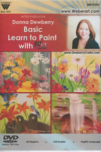 Beginner Floral Painting with wOil Donna Dewberry DVD
