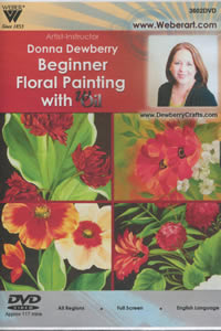 Donna Dewberry Beginner with wOil DVD