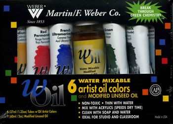 Water Mixable Artist wOils from Martin F./Weber