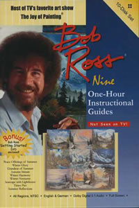 Bob Ross 10 Disk DVD Set