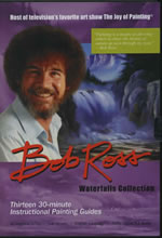 Bob Ross Waterfall Collection 3 Disc DVD Set