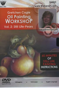Still Life Pears Volume 2 with Oils 1 Hour DVD