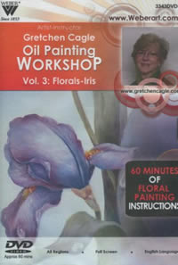 Floral Workshop Oil Painting DVD: Iris - 1 Hour
