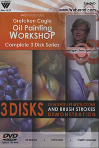 Gretchen Cagle Still Life Painting DVD 3 Hour
